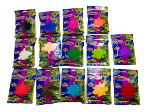 Foamy Moldeable- Goma Eva- Unicolor  Por 14 Unidades