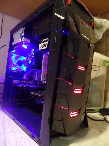 Pc Gamer Barato Intel Placa Vídeo R7 250 2gb Ssd Hd Fortnite