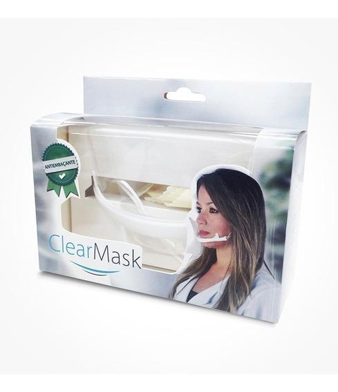 10 Máscaras Higiênicas Estética Profissional Acrílica Estek