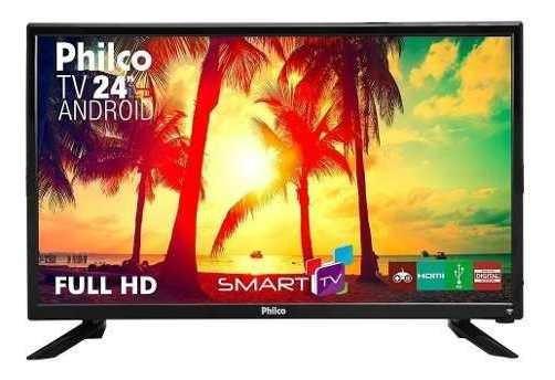 Tv Led 24 Philco Ptv24n91sa Full Hd Com Android, 1 Usb