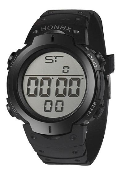 Relógio Digital Masculino Led Promoção Barato