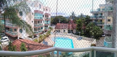 Apartamento À Venda, 81 M² Por R$ 420.000,00 - Itaipu - Niterói/rj - Ap3841