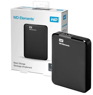 Disco Externo Western Digital Elements 1tb Usb 3.0