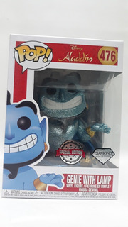 Funko Pop Aladdin Genie With Lamp 476 Disney-special Edition