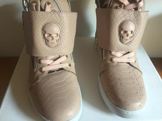 Tênis Estilo Labellamafia Sneaker Cano Alto