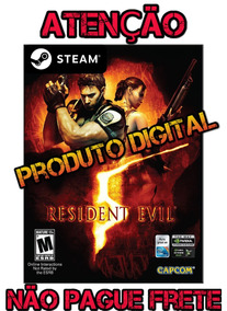 Resident Evil 5 - Pc Steam Key Original