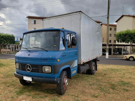 Mercedes-benz Mb 608 Baú Ano 1981/ 1982
