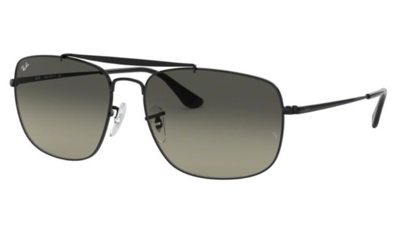 Oculos Sol Ray Ban The Colonel Rb3560 002/71 61mm Cinza Degr