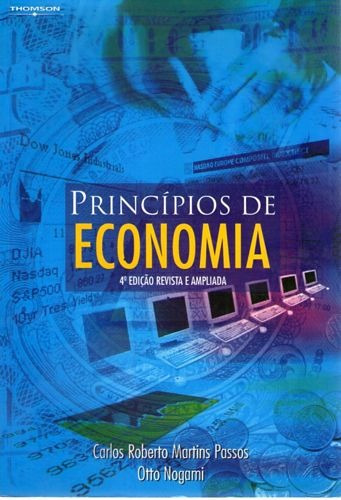 Princípios De Economia (4° Edição   2003 Passos, Carlos Rob