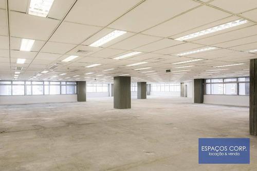 Laje Corporativa Para Alugar, 803m² - Vila Nova Conceição - São Paulo/sp - Lj0704