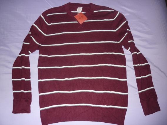 E Sweater Mossimo Supply Co. Nuevo Bordo Art 79117