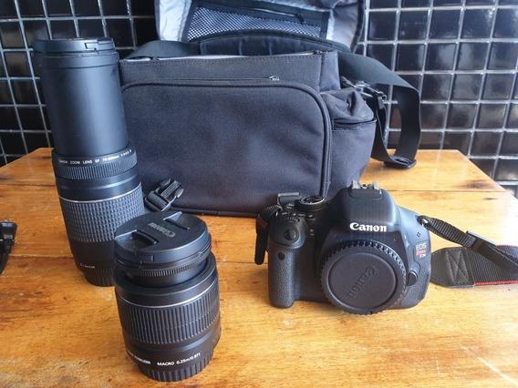 Câmera Dslr Canon Eos Rebel T3i