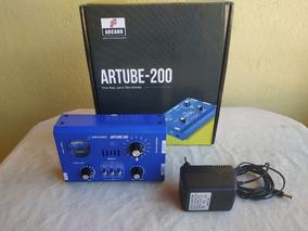 Pré-amplificador Valvulado Arcano Artube 200 (menor Preço)