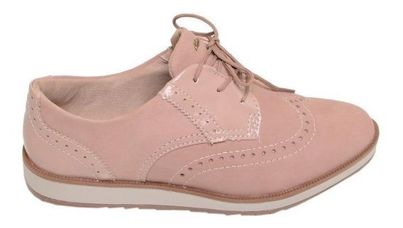Sapato Feminino Oxford Dakota Rosa