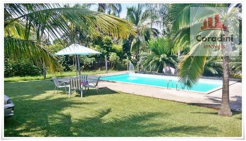 Chácara Residencial À Venda, Vila Queiroz, Limeira. - Ch0035