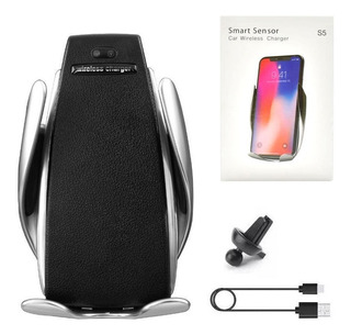 Suporte Veicular - Smart Sensor S5 Car Wireless Charger