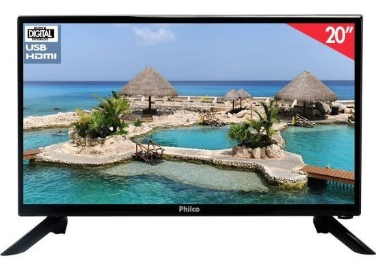 Tv Televisor Digital Barco Caminhao Onibus 12 Volts 19 Poleg