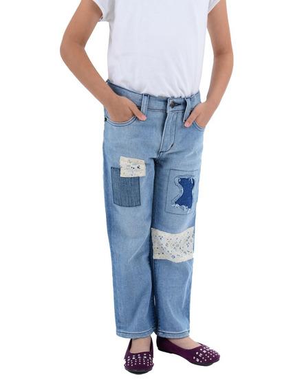 Jeans Innermotion Para Niñas Slim Fit. Est. 7109