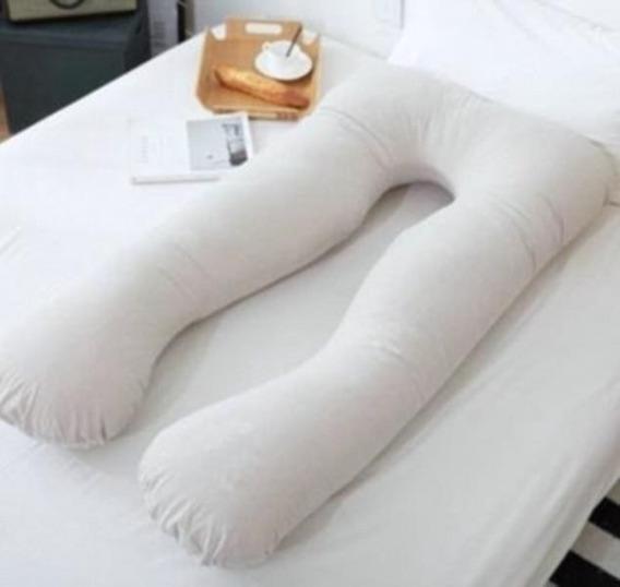 Travesseiro Gestante Gigante Gravida + Fronha Percal