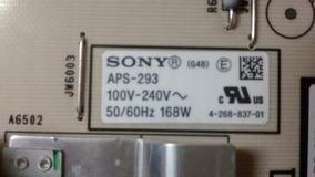 Placa Fonte Sony Kdl-40ex725 Aps-293 - Cód. 1-883-924-12