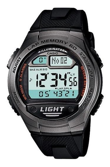Relógio Casio Digital Masculino W-734-1avdf