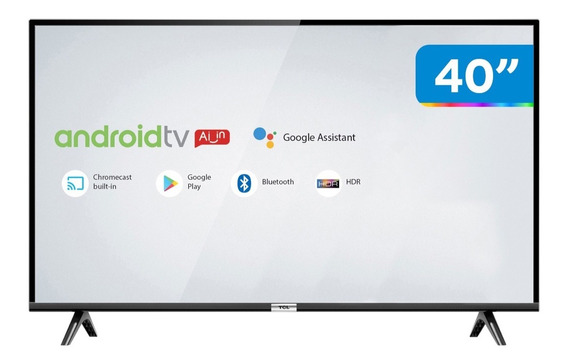 Tv 40 Led Tcl 40s6500fs Smart Android Tv Full Hd 1 Usb 35732