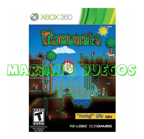 Terraria Xbox 360 Juego Digital Original