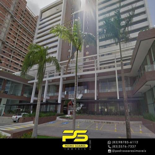 Imagem 1 de 4 de Sala Para Alugar, 32 M² Por R$ 1.900/mês - Bancários - João Pessoa/pb - Sa0182