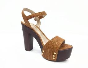63fa271f Zapatos De Tacón Color Miel, Para Mujer. Nuevos - Zapatos en Mercado ...