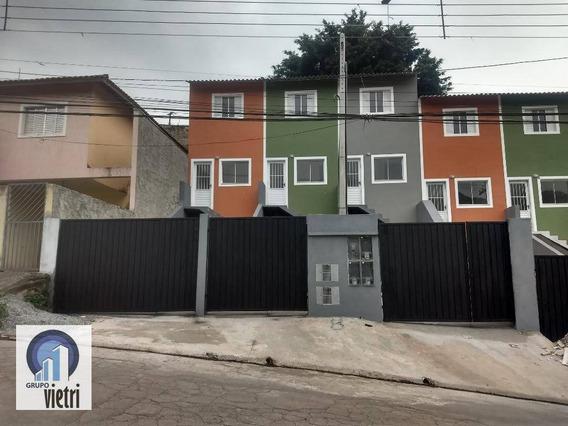 Sobrado Novo 2 Dormitorios 2 Vagas - Francisco Morato - So2415