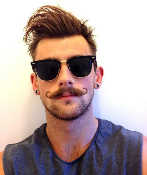 Óculos De Marca Masculino Importado Espelhado Homem Mulher