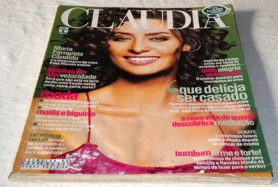 Revista Claudia Maria Fernanda Candido Nov 2003 N 11 Ano 42