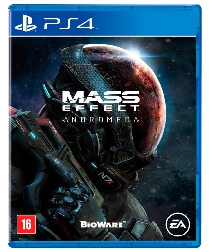 Mass Effect Andromeda - Playstation 4 Novo Mídia Física