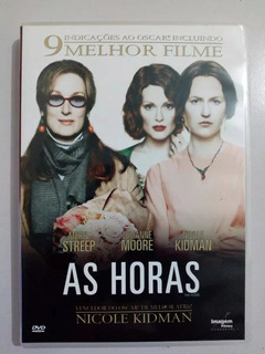 Dvd As Horas Nicole Kidman - Original (lacrado)