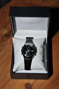 Relógio Citizen Chronograph Wr 100 Em Ótimo Estado Na Caixa