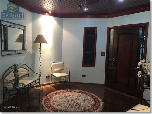 Sobrado Com 4 Dormitórios À Venda, 430 M² Por R$ 1.799.000,00 - Parque Das Nações - Santo André/sp - So1193