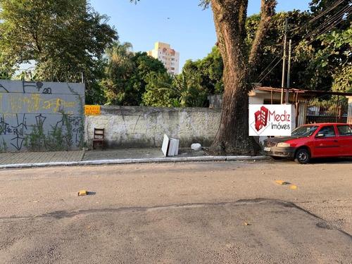 Imagem 1 de 10 de Terreno À Venda Na Vila Mangalot Na Rua Roberto De Lamenais