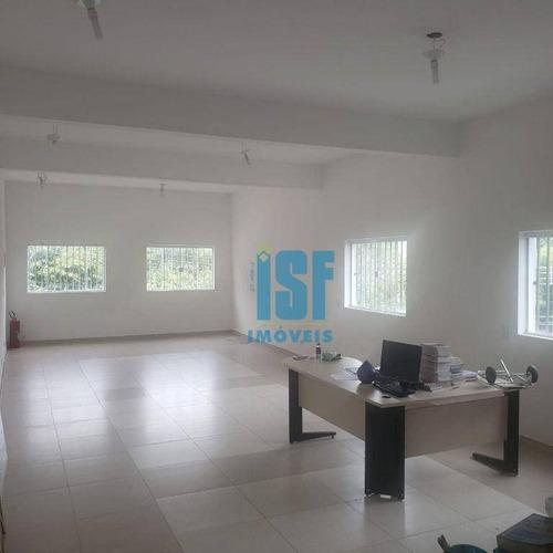 Imagem 1 de 7 de Sala Para Alugar, 82 M² - Jardim Das Flores - Osasco/sp - Sa0220. - Sa0220