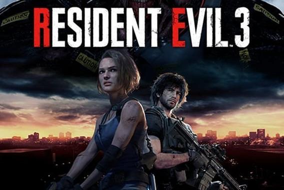 Resident Evil 3 Remake Pc Steam Offline Ativa Hoje!