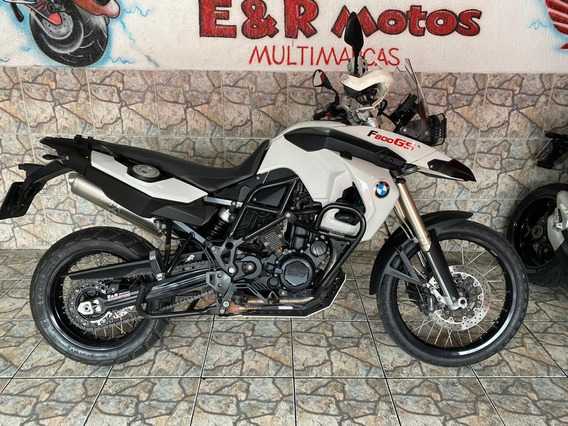 Bmw F800 Gs Branca 2012 Gasolina