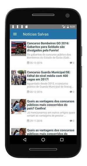Criação Aplicativo Android De Um Blog Wordpress