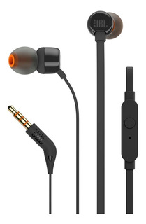 Audifono In-ear Jbl T110 Manos Libres Negro - Audiomobile