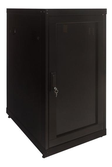 Rack Piso Para Servidor 24us X 600mm Preto Desmontavel C/ Nf