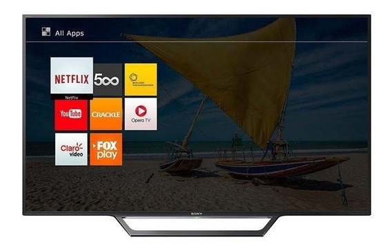 Smart Tv Led 32 Sony Kdl-32w655d, Hd Com Rádio