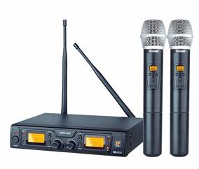 Microfone Sem Fio Staner Srw48d Ht48 Duplo Original