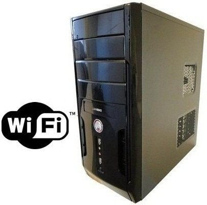 Pc Cpu Dual Core / Hd 160 Gb / 4 Gb Ram / Wi-fi C/ Garantia