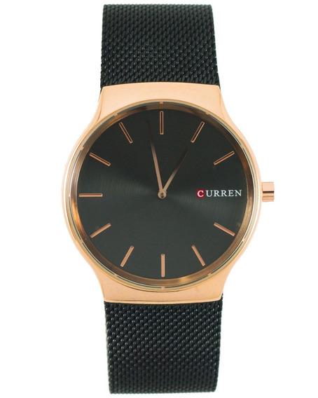 Reloj Curren Vox Plateado De Metal