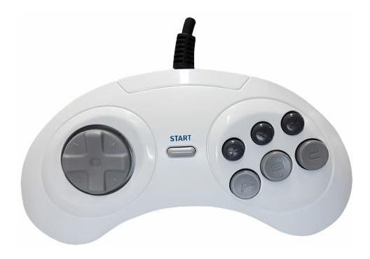 Joystick De Mega Drive 6 Botões, Controle De Sega, Original