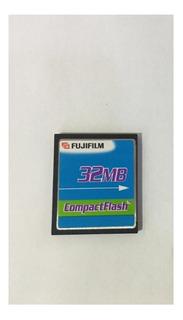 Cartão De Memória Compact Flash (cf) Fujifillm 32mb