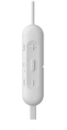 Fone de Ouvido Headphones Intra-auriculares Sem Fio Branco Sony Wi-c200/w